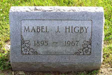 HIGBY, MABEL JEAN - Ross County, Ohio | MABEL JEAN HIGBY - Ohio Gravestone Photos