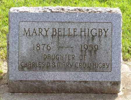 HIGBY, MARY BELLE - Ross County, Ohio | MARY BELLE HIGBY - Ohio Gravestone Photos