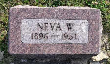 HIGBY, NEVA W. - Ross County, Ohio | NEVA W. HIGBY - Ohio Gravestone Photos