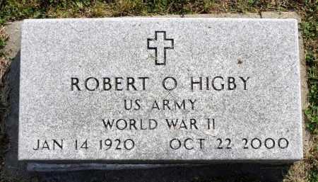 HIGBY, ROBERT O. - Ross County, Ohio | ROBERT O. HIGBY - Ohio Gravestone Photos