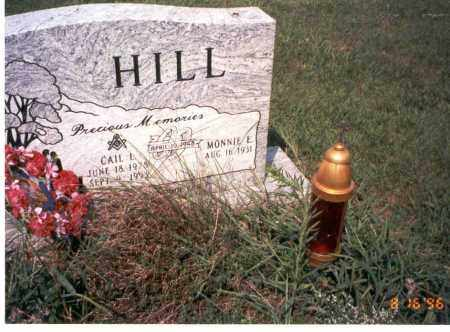 HILL, MONNIE E. - Ross County, Ohio | MONNIE E. HILL - Ohio Gravestone Photos