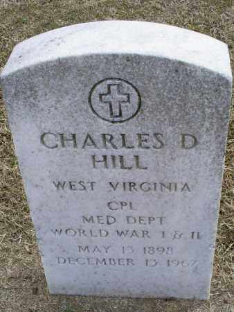 HILL, CHARLES D. - Ross County, Ohio | CHARLES D. HILL - Ohio Gravestone Photos