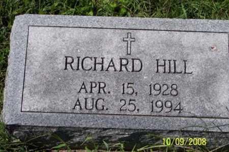 HILL, RICHARD - Ross County, Ohio | RICHARD HILL - Ohio Gravestone Photos