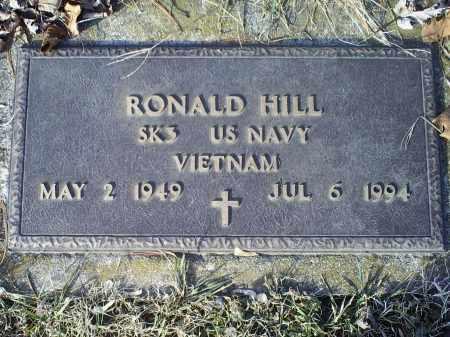 HILL, RONALD - Ross County, Ohio | RONALD HILL - Ohio Gravestone Photos