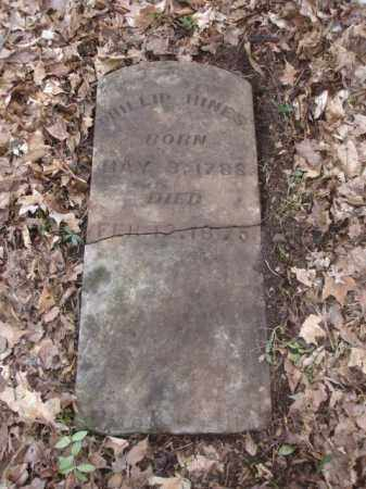HINES, PHILLIP - Ross County, Ohio | PHILLIP HINES - Ohio Gravestone Photos
