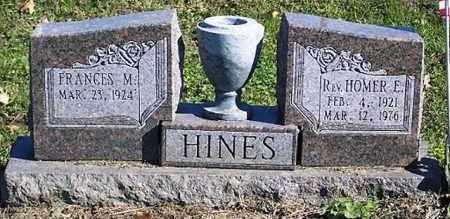 HINES, REV HOMER E. - Ross County, Ohio   REV HOMER E. HINES - Ohio Gravestone Photos