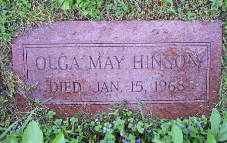 HINSON, OLGA MAY - Ross County, Ohio   OLGA MAY HINSON - Ohio Gravestone Photos