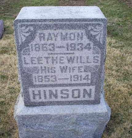 HINSON, RAYMON - Ross County, Ohio | RAYMON HINSON - Ohio Gravestone Photos