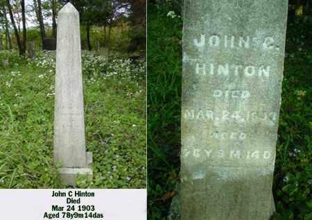 HINTON, JOHN C - Ross County, Ohio | JOHN C HINTON - Ohio Gravestone Photos