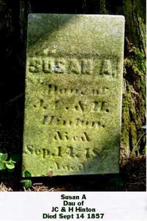 HINTON, SUSAN A - Ross County, Ohio | SUSAN A HINTON - Ohio Gravestone Photos