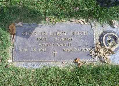 HITCH, CHARLES LEROY - Ross County, Ohio   CHARLES LEROY HITCH - Ohio Gravestone Photos