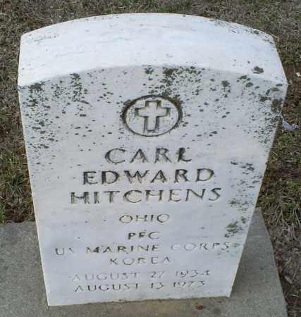 HITCHENS, CARL EDWARD - Ross County, Ohio   CARL EDWARD HITCHENS - Ohio Gravestone Photos