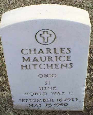 HITCHENS, CHARLES MAURICE - Ross County, Ohio   CHARLES MAURICE HITCHENS - Ohio Gravestone Photos