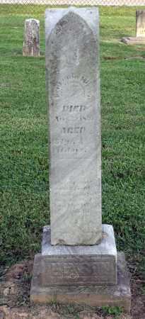 HIXSON, BENJAMIN - Ross County, Ohio | BENJAMIN HIXSON - Ohio Gravestone Photos
