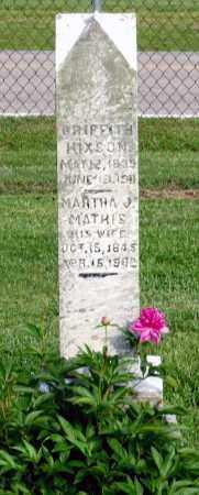 HIXSON, GRIFFITH - Ross County, Ohio   GRIFFITH HIXSON - Ohio Gravestone Photos