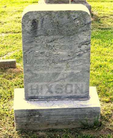 HIXSON, JAMES R. - Ross County, Ohio   JAMES R. HIXSON - Ohio Gravestone Photos