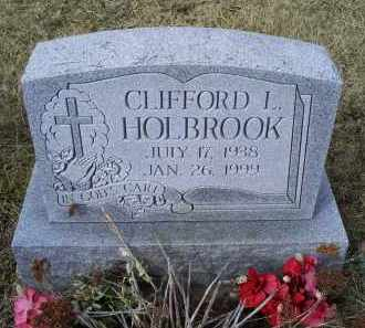 HOLBROOK, CLIFFORD L. - Ross County, Ohio   CLIFFORD L. HOLBROOK - Ohio Gravestone Photos