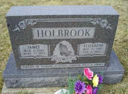 HOLBROOK, ELIZABETH - Ross County, Ohio   ELIZABETH HOLBROOK - Ohio Gravestone Photos