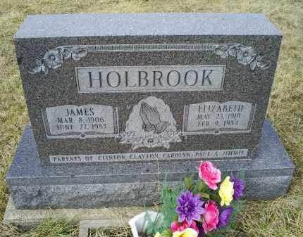 HOLBROOK, ELIZABETH - Ross County, Ohio | ELIZABETH HOLBROOK - Ohio Gravestone Photos