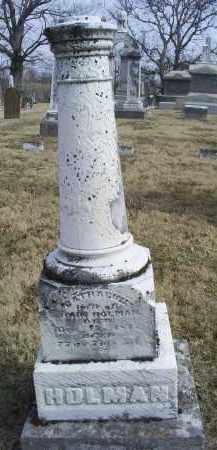HOLMAN, CATHARINE - Ross County, Ohio | CATHARINE HOLMAN - Ohio Gravestone Photos