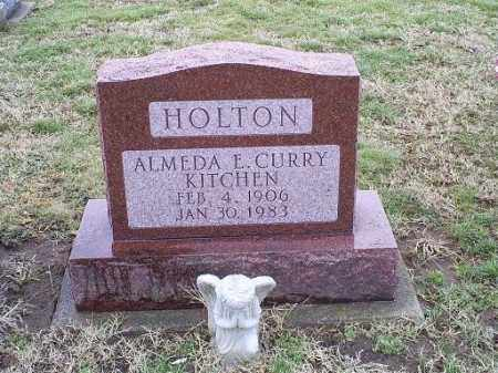 CURRY HOLTON, ALMEDA E. - Ross County, Ohio | ALMEDA E. CURRY HOLTON - Ohio Gravestone Photos