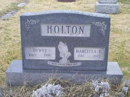 HOLTON, MARCELLA EILEEN - Ross County, Ohio | MARCELLA EILEEN HOLTON - Ohio Gravestone Photos