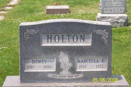 HOLTON, MARCELLA E. - Ross County, Ohio   MARCELLA E. HOLTON - Ohio Gravestone Photos