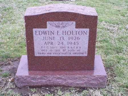HOLTON, EDWIN E. - Ross County, Ohio | EDWIN E. HOLTON - Ohio Gravestone Photos