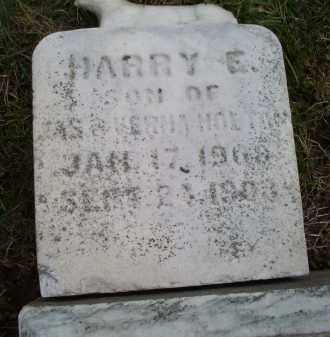 HOLTON, HARRY E. - Ross County, Ohio | HARRY E. HOLTON - Ohio Gravestone Photos