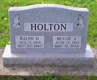 HOLTON, RALPH D. - Ross County, Ohio | RALPH D. HOLTON - Ohio Gravestone Photos