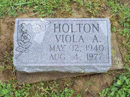 HOLTON, VIOLA A. - Ross County, Ohio | VIOLA A. HOLTON - Ohio Gravestone Photos