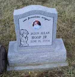 HOOP, JASON ALLAN JR. - Ross County, Ohio | JASON ALLAN JR. HOOP - Ohio Gravestone Photos