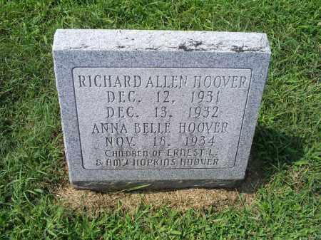 HOOVER, ANNA BELLE - Ross County, Ohio   ANNA BELLE HOOVER - Ohio Gravestone Photos