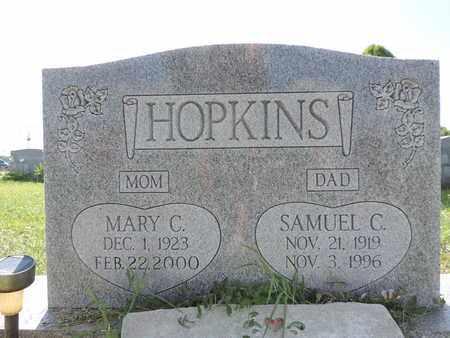 HOPKINS, MARY C. - Ross County, Ohio | MARY C. HOPKINS - Ohio Gravestone Photos