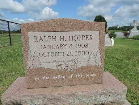 HOPPER, RALPH H. - Ross County, Ohio | RALPH H. HOPPER - Ohio Gravestone Photos