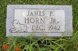 HORN, JAMES F. JR. - Ross County, Ohio | JAMES F. JR. HORN - Ohio Gravestone Photos