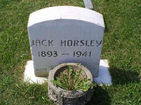 HORSLEY, JACK - Ross County, Ohio | JACK HORSLEY - Ohio Gravestone Photos
