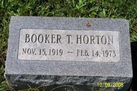 HORTON, BOOKER T. - Ross County, Ohio | BOOKER T. HORTON - Ohio Gravestone Photos