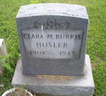 HOSLER, CLARA M. - Ross County, Ohio | CLARA M. HOSLER - Ohio Gravestone Photos