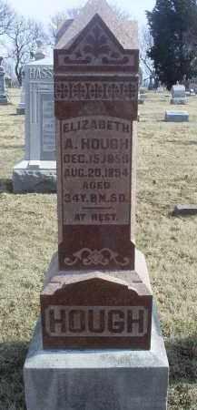 HOUGH, ELIZABETH A. - Ross County, Ohio   ELIZABETH A. HOUGH - Ohio Gravestone Photos