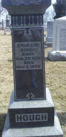 HOUGH, EPHRIAM - Ross County, Ohio | EPHRIAM HOUGH - Ohio Gravestone Photos