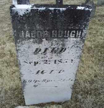 HOUGH, JACOB - Ross County, Ohio   JACOB HOUGH - Ohio Gravestone Photos