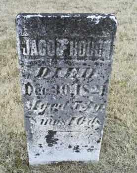 HOUGH, JACOB - Ross County, Ohio | JACOB HOUGH - Ohio Gravestone Photos