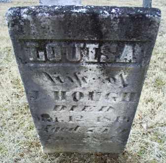 HOUGH, LOUISA - Ross County, Ohio   LOUISA HOUGH - Ohio Gravestone Photos