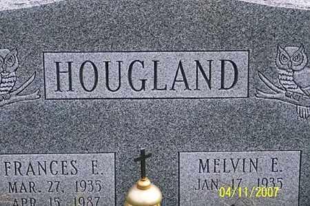 HOUGLAND, FRANCES E. - Ross County, Ohio | FRANCES E. HOUGLAND - Ohio Gravestone Photos