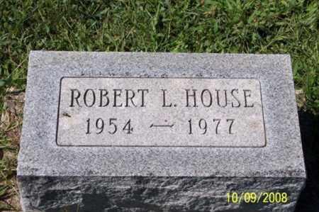 HOUSE, ROBERT L. - Ross County, Ohio | ROBERT L. HOUSE - Ohio Gravestone Photos