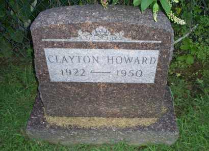 HOWARD, CLAYTON - Ross County, Ohio   CLAYTON HOWARD - Ohio Gravestone Photos