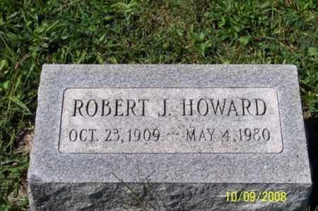 HOWARD, ROBERT J. - Ross County, Ohio | ROBERT J. HOWARD - Ohio Gravestone Photos