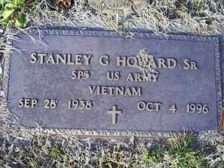 HOWARD, STANLEY G. SR. - Ross County, Ohio | STANLEY G. SR. HOWARD - Ohio Gravestone Photos