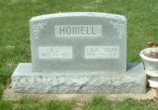HOWELL, LULA - Ross County, Ohio | LULA HOWELL - Ohio Gravestone Photos